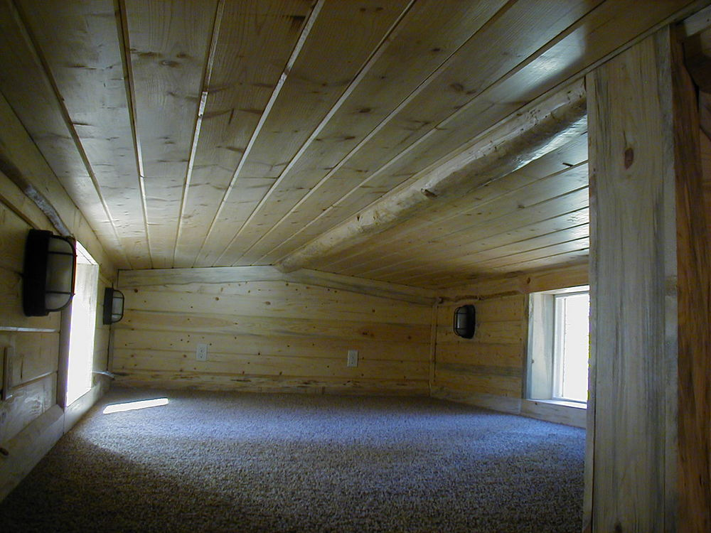 Roof Style Options: Inside View From Loft