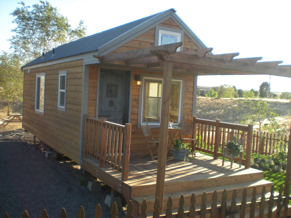Tiny Home Rental Marlin Washington Tiny Portable Cedar