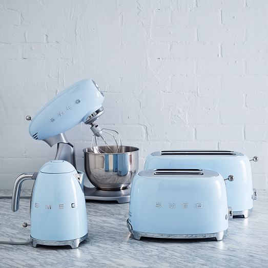 Retro Tiny Home Appliances Add Luscious Colors