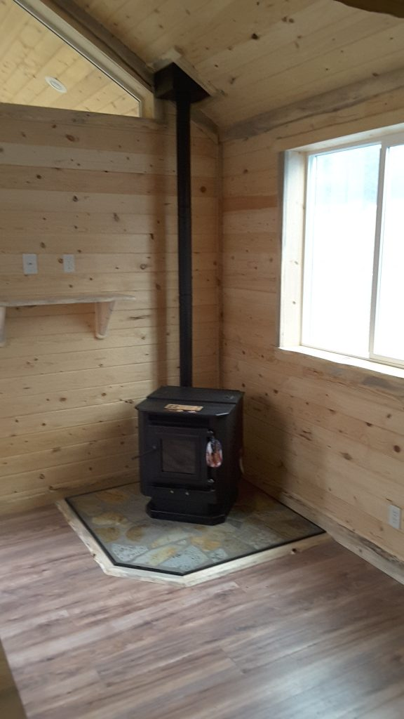 Heating options wood stove