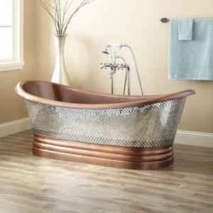 Horse Trough Inspired Tiny Bath Tubs