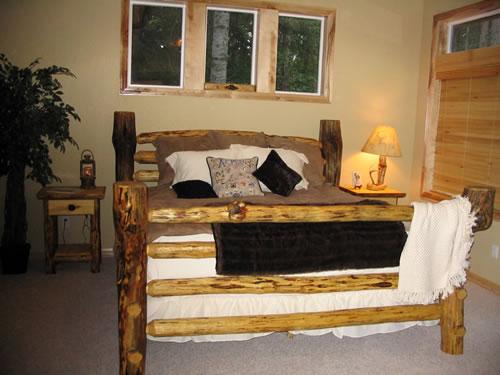 Log Beds Sleigh