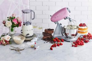 Pink_SDA_cookbook retro tiny home appliances