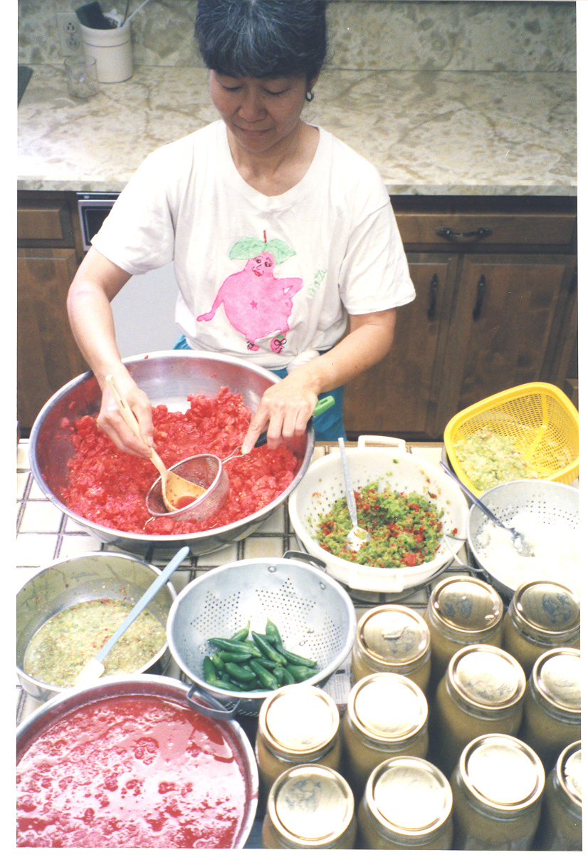 Making Salsa 1
