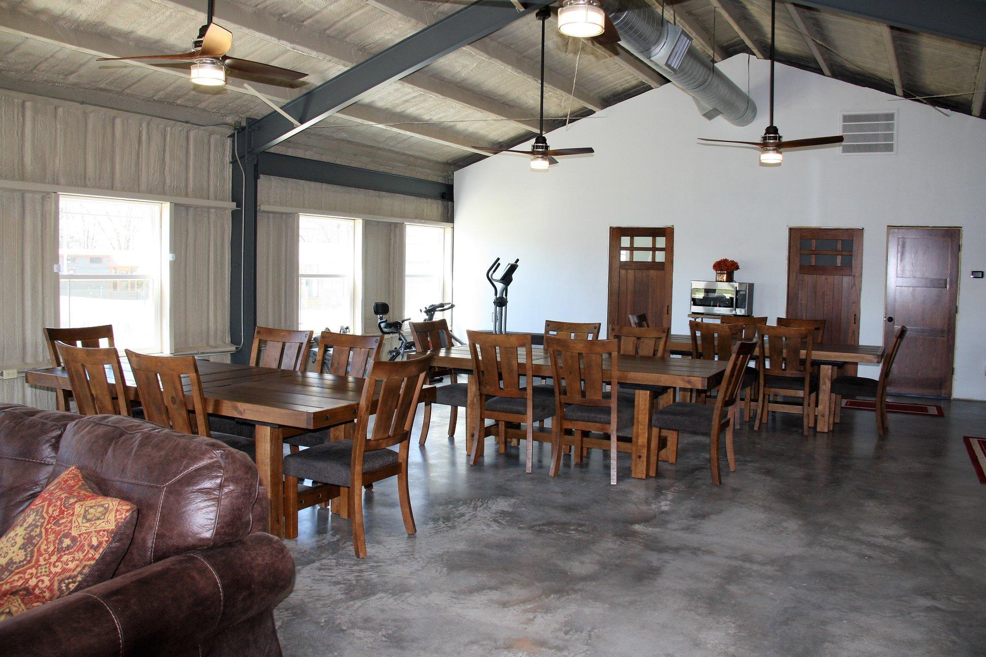 vintage community room