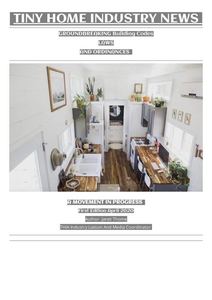 Tiny House Industry News